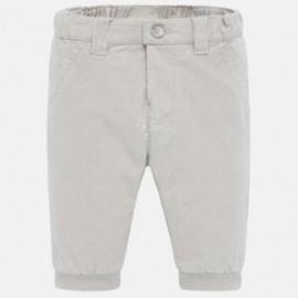 Kalhoty dlouhý manšestr chlapci Mayoral 591-70 Sedá