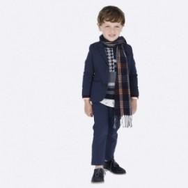 Kalhoty v pase na svaru chlapci Mayoral 4506-7 Granát