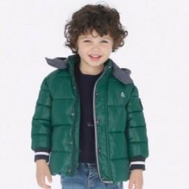 Bunda na zimu s odnímatelnou kapucí pro chlapce Mayoral 4442-69 Cypress