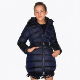 Dlouhá bunda s pásem pro dívku Mayoral 7419-55 granát