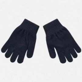 Rukavice s pěti prsty hladké pro chlapce Mayoral 10687-44 Granát