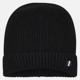 Hladká čepice pro chlapce Mayoral 10704-53 Černá