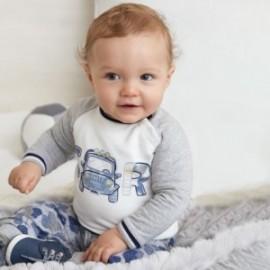Dvoudílná bavlněná mikina a kalhoty pro chlapce Mayoral 2622-20 Indigo