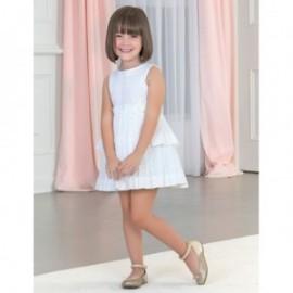 Dívčí společenské šaty Abel & Lula 5026-1 bílá