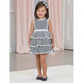Elegantní šaty s krajkou pro dívky Abel & Lula 5053-3 Navy