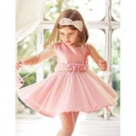 Elegantní šaty pro dívky Abel & Lula 5018-5 růžové