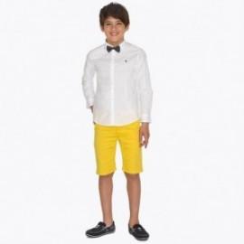 Mayoral 242-18 Bermudští chlapci žluté chino