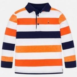 Mayoral 3124-23 Chlapecké polokošile oranžové