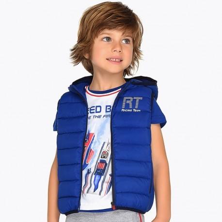 Mayoral 3312-16 Chlapecká zateplená vesta s kapucí