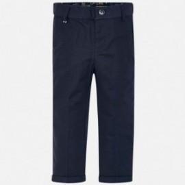 Mayoral 3514-72 Chlapecké lněné kalhoty granát