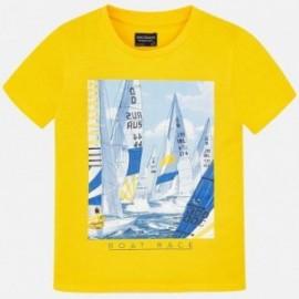 Mayoral 6032-55 Tričko k/y chlapci žlutý