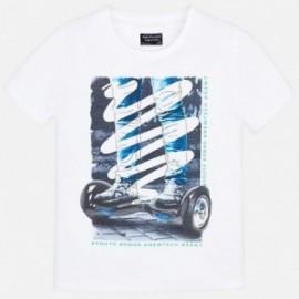 Mayoral 6039-45 Chlapecké tričko bílá