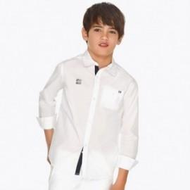 Mayoral 6133-90 Chlapecká košile bílá