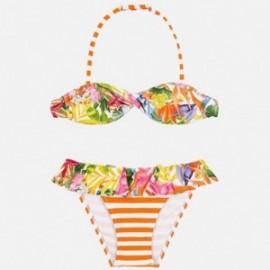 Mayoral 6711-87 Bikini s potiskem děti Oranžový
