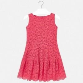 Mayoral 6912-71 Dívčí šaty korálový
