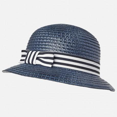 Mayoral 10550-21 Dívčí klobouk námořnická modř