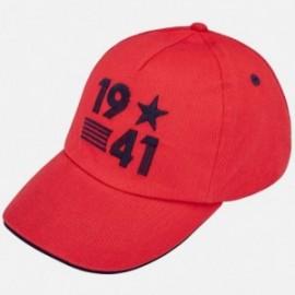 Mayoral 10583-55 Cap chlapci červená