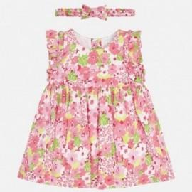Mayoral 1839-49 Dívčí růžové šaty