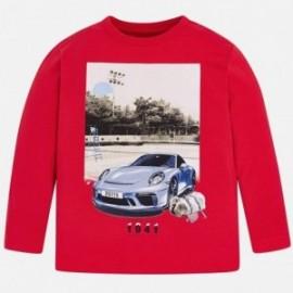 Mayoral 3046-12 Sportovní tričko d/y děti červená