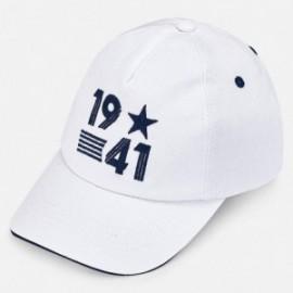 Mayoral 10583-52 Cap pro chlapce bílá