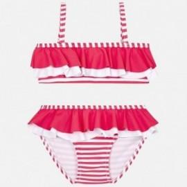 Mayoral 3711-45 Bikini s pruhy pro dívky růžový