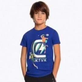 Mayoral 6051-74 Tričko k/y chlapci modrý