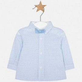 Mayoral 1106-57 Košile d/y s motýlkem chlapci modrý