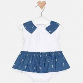 Mayoral 1803-90 Pajacyk sukně pro dívky modrá barva
