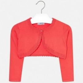 Mayoral 320-17 Bolero svetr pro dívčí korály