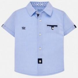 Mayoral 1127-91 Elegantní chlapecká košile modrá