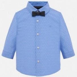 Mayoral 1132-91 Košile d y s motýlkem chlapci Modrý