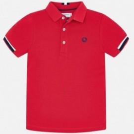 Tričko Mayoral 3122-30 Polo k / y pro chlapce červená
