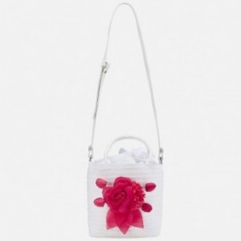 Mayoral 10600-10 Bílá dívčí kabelka pro děti