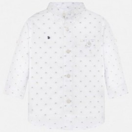 Mayoral 1133-63 Košile d/y s potiskem dětská Bílá