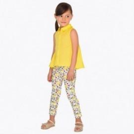 Mayoral 3507-80 Dlouhé kalhoty dívky žluté