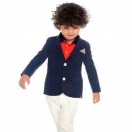 Mayoral 3516-58 Kalhoty s páskem pro chlapce bílá