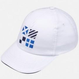 Mayoral 10582-74 Chlapecká baseballová čepice bílá