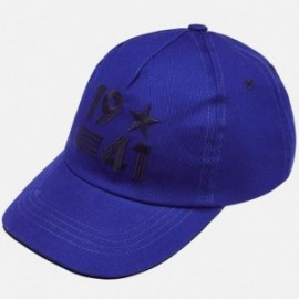 Mayoral 10583-54 Chlapecká čepice modrý