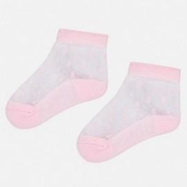 Mayoral 9094-39 Dívčí ponožky růžový
