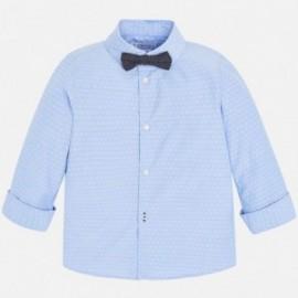 Mayoral 3139-64 Košile d/y s motýlkem pro děti modrý