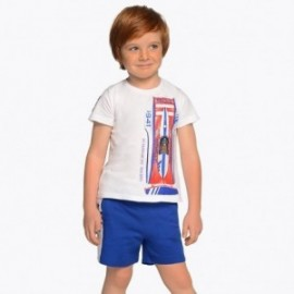 Mayoral 3608-95 Chlapecké tričko a bermudy Modré