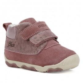 Geox Dívčí zimní boty B940QA-02207-C8006 fialová