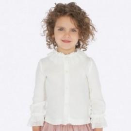 Elegantní halenka pro dívky Mayoral 4101-44 smetanový