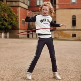 Sportovní oblek bavlna dívčí Mayoral 7802-66 Černá