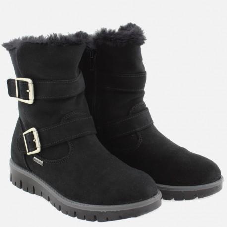 Kozaki zimowe dla dziewczynki IMAC 430518- 7000-11-S czarny