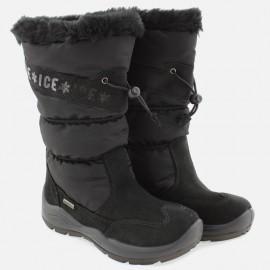 Dívčí sněhové boty IMAC 430828- 7000-11-M černé