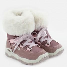 Zimní holínky pro dívky IMAC 434098-70057-1-S růžová
