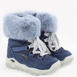 Zimní holínky pro dívky IMAC 434098- 7026-32-M tmavě modrá