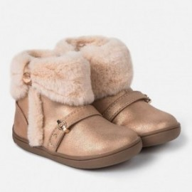 Boty zimní s kožešinou pro dívku Mayoral 42028-59 Růžový