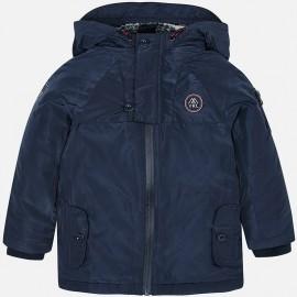 bunda s podšívkou sportovní pro chlapce Mayoral 4449-60 granát